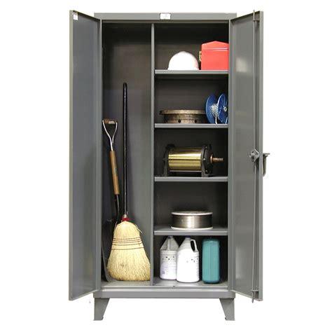 Cabinet Shelf - stronghold broom closet cabinets shelving inc