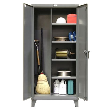 Stronghold Broom Closet Cabinets  Shelving Inc