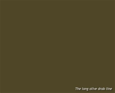 lustreless olive drab paint the olive drab line
