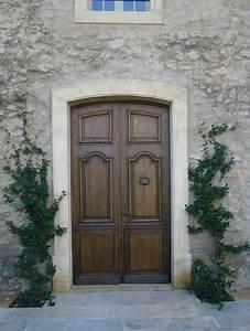 Isolation Porte D Entrée Ancienne : porte d 39 entr e ancienne en ch ne 2 vantaux ~ Edinachiropracticcenter.com Idées de Décoration