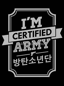 """Certified BTS ARMY"" Photographic Prints by skeletonvenus"