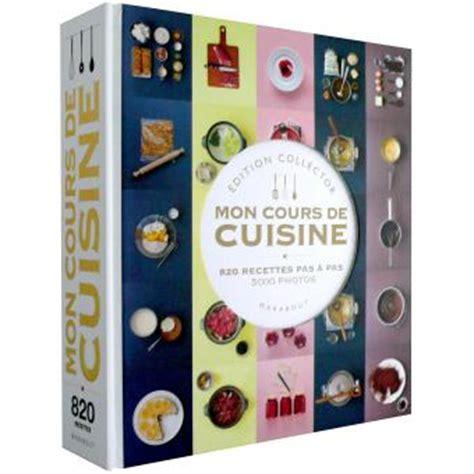 mon cours de cuisine edition collector broch 233 collectif achat livre achat prix fnac