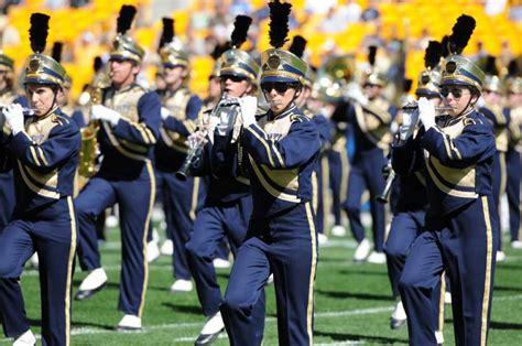 pitt band brings  flair   tradition  pitt news