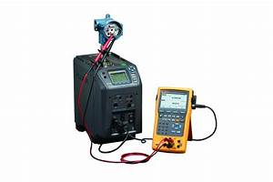fluke comes up with a temperature calibration solution With fluke 754 documenting process calibrator with hart communication