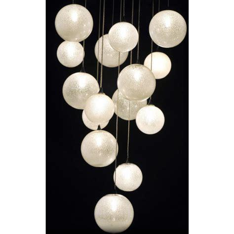superbe fontaine de lumi 232 re 224 boules de verre de venise souffl 233 luminaire contemporain i