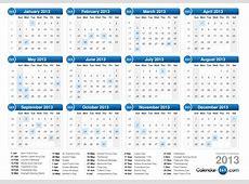 2013 Calendar 01