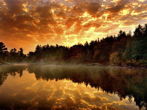 Reflected Lake Autumn Water Nature Desktop 1680x1050 Hd ...