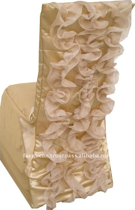 ruffled wedding chair covers view chair covers