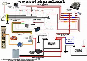 Wiring Diagram How To Wire Up Your Camper It Is Recomended To Run The Fridge Directly From Your