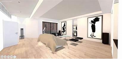 Psycho American Apartment Patrick Bateman 3d Plan