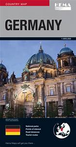 Hema Deutschland Online Shop : germany map hema maps books travel guides buy online ~ Markanthonyermac.com Haus und Dekorationen