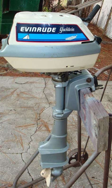 hp evinrude yachtwin outboard