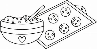 Coloring Cookie Mixing Bowl Dough Cookies Baking