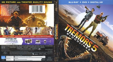 tremors 5 bd scan | DVD Covers | Cover Century | Over 500 ...