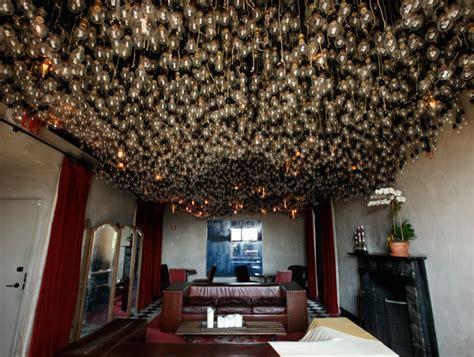 light bulbs of gramercy park hotel notcot
