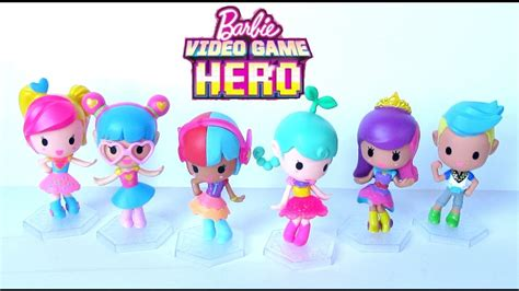 Barbie Video Game Hero Vinyl Figures Collection