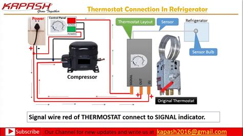 Thermostat Wiring Connection Hindi Part Youtube