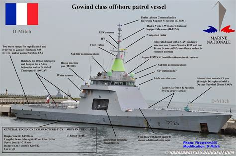 U Boat Flightdeck Mbs 50 Ms G by Naval Analyses L Adroit Offshore Patrol Vessel Of The