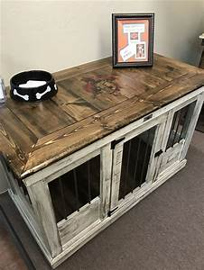 Best 25 dog crate furniture ideas on pinterest puppy for Best wooden dog crate