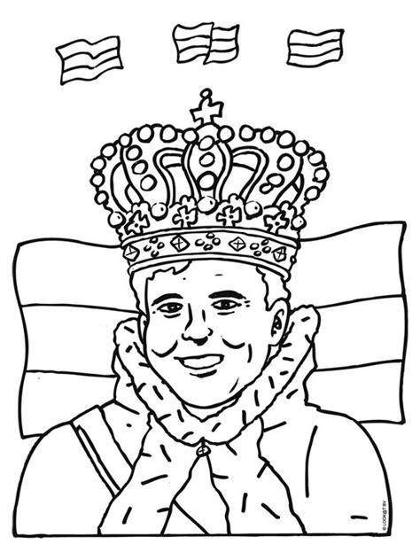 Koningsdag Kleurplaat by Kleurplaat Koningsdag Kleuring Zoeken En