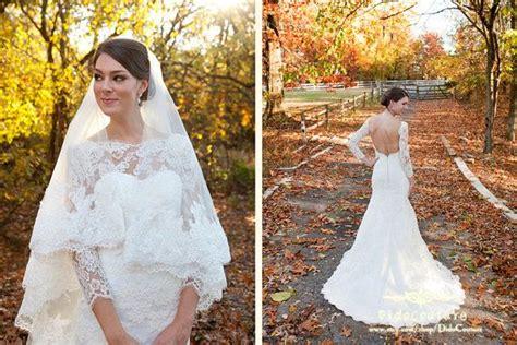Mermaid Anlencon Lace Bridal Gown Long Sleeves Bridal