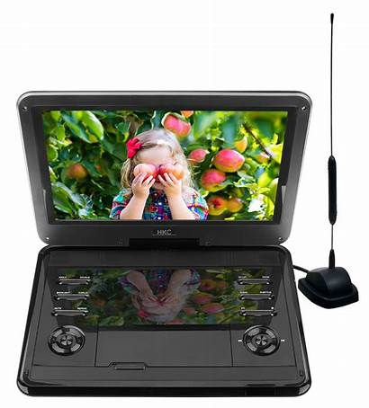 Dvd Player Built Tv Portable Tuner 12inch