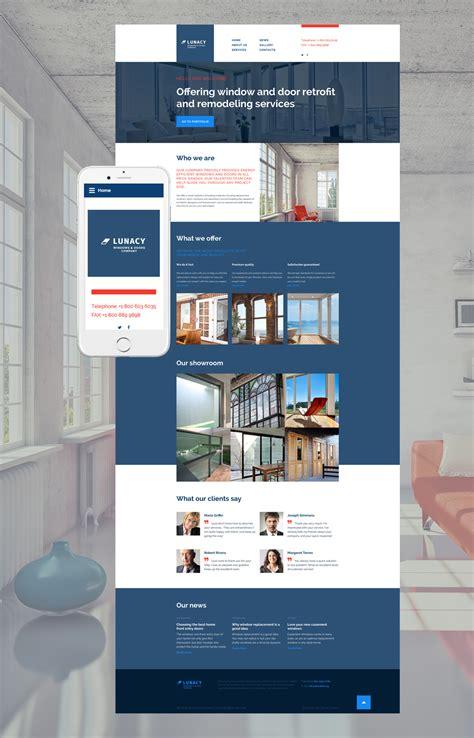 home decor website home decor web template