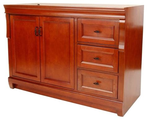 Foremost Naples Bathroom Vanities by Foremost Naples 48 Quot Vanity Warm Cinnamon Traditional