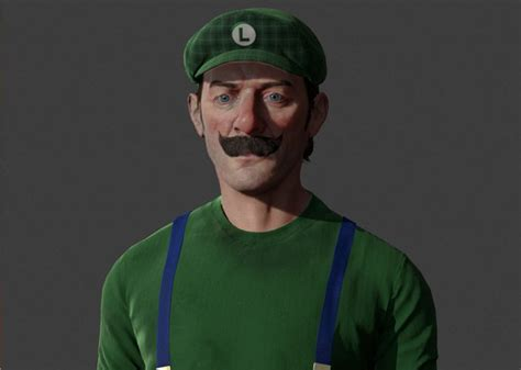 These Artists Give Classic Nintendo Characters A Realistic