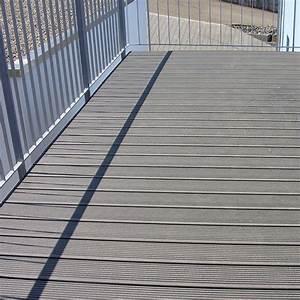 Lame De Terrasse Composite Longueur 4m : profil de terrasse de 4 6 m de longueur lame terraza bz werzalit ~ Melissatoandfro.com Idées de Décoration