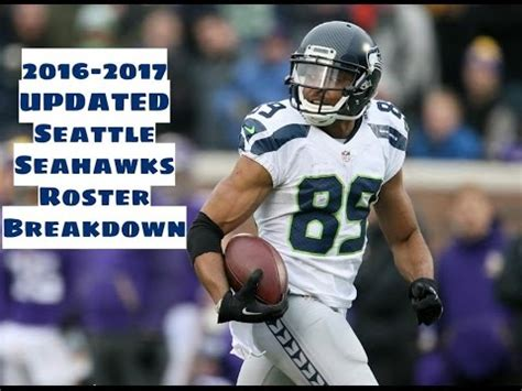 updated   seattle seahawks roster breakdown