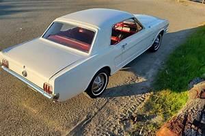 1965 Ford Mustang Sportscar White Rwd Manual