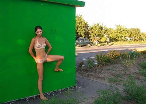 crimean girl with deep tan lines on highway russian sexy girls