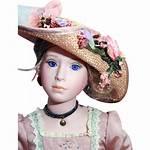 Danbury Porcelain Mint Doll Rose Bess Dolls