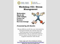Student Workshop Stress Management – AUA Newsroom