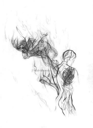 .angel anatomy - Smoke Series, Joanna Wedrychowska #art #illustrations #tattoo #ideas | Art
