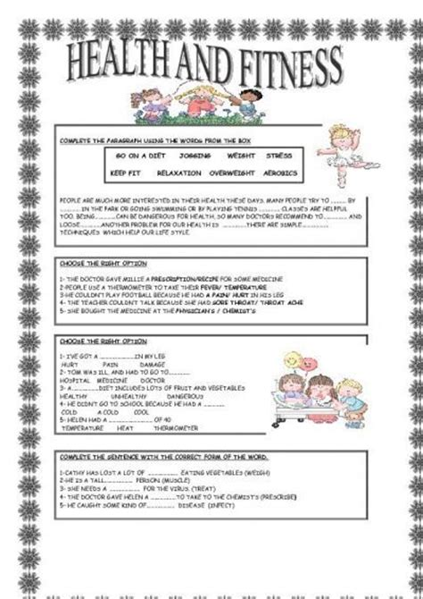 health  fitness  images  kindergarten