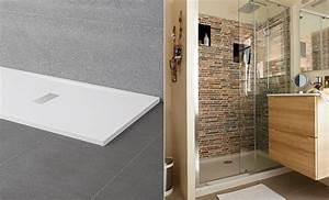 Bac Douche Italienne : avis sur 8 receveurs de douche grand format ~ Premium-room.com Idées de Décoration