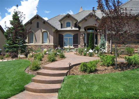 Formal Vs Informal Front Yard  Landscaping Network