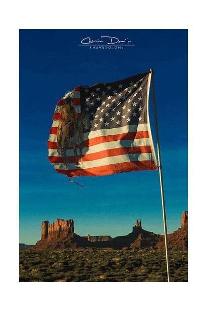 Monument Valley Flag Utah American Usa Gifs