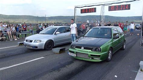Drag Racing Campia Turzii Audi A3 1.9d Vs Golf 3 1.9d