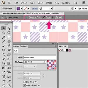 10 Steps to Create Seamless Pattern with Adobe Illustrator CS6