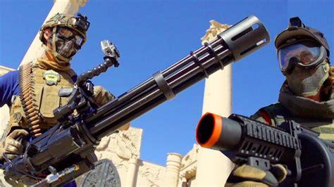 Team Fortress 2 Airsoft Minigun Rampage