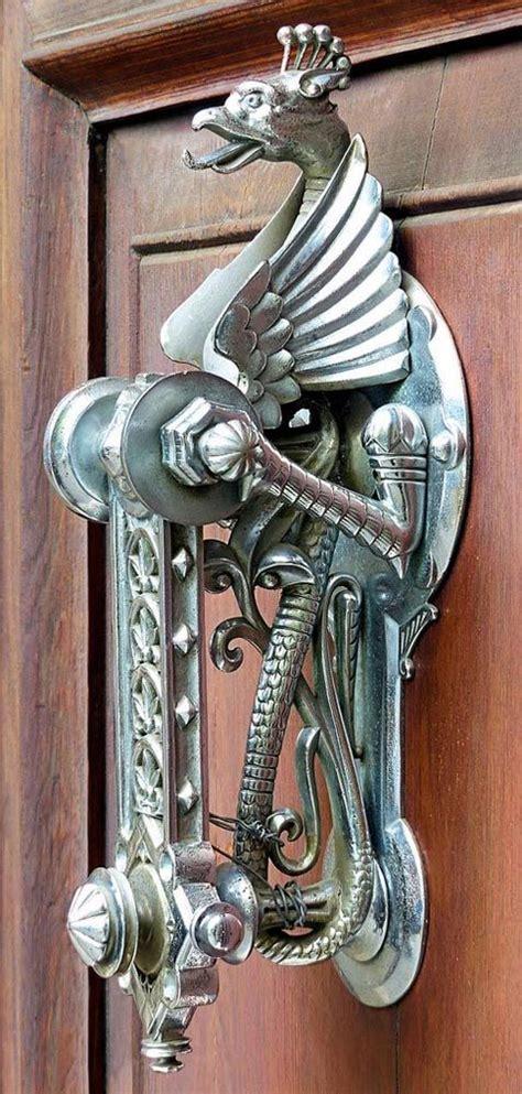 images  unique door knockers  pinterest