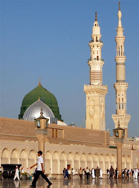 prophets mosque great status  vast expansions