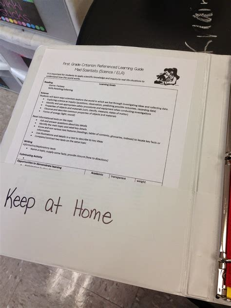 pride  primary  grade homework packets  oz binder