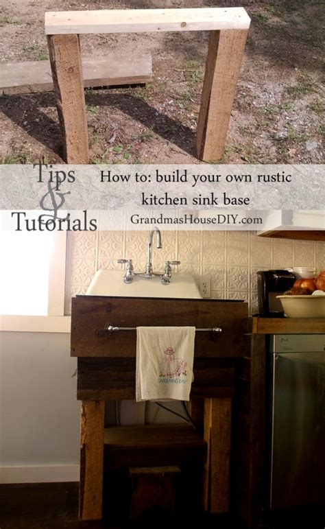 build yourself kitchen cabinets 11 diy sink bases and cabinets you can make yourself 4964