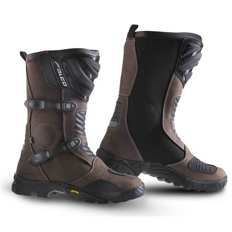 motorcycle touring boots falco mixto atv waterproof leather motorcycle adventure