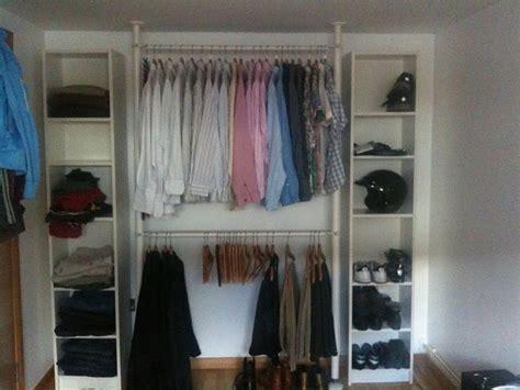 closet without a closet bedroom storage ideas