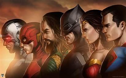 Justice League Wonder Woman Superman Batman Flash